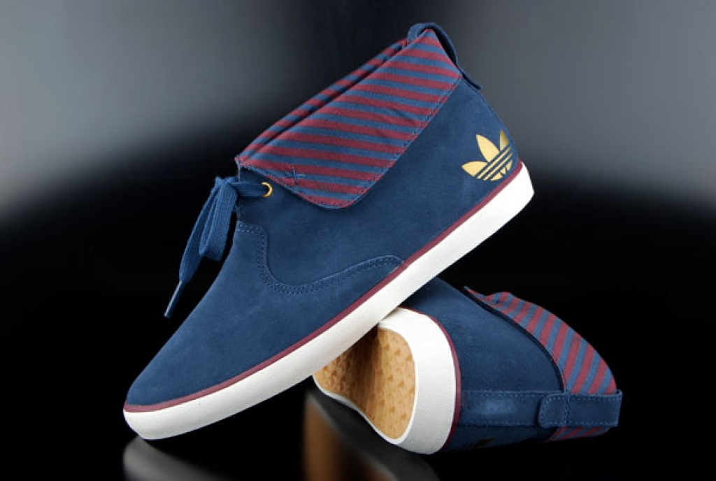 Adidas Azurine Bootie Woman Solblue Maroon Sneaker