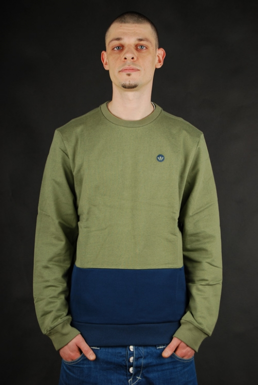 Adidas Originals M Crew Sweatshirt Olive