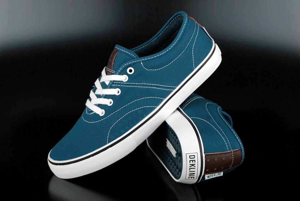 Dekline Bixby Sneaker Blue White Contrast US10,5/EU44