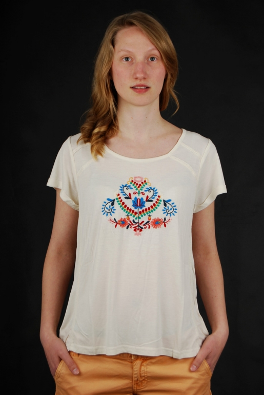 Element T-Shirt Holly Ivory Gr. XS