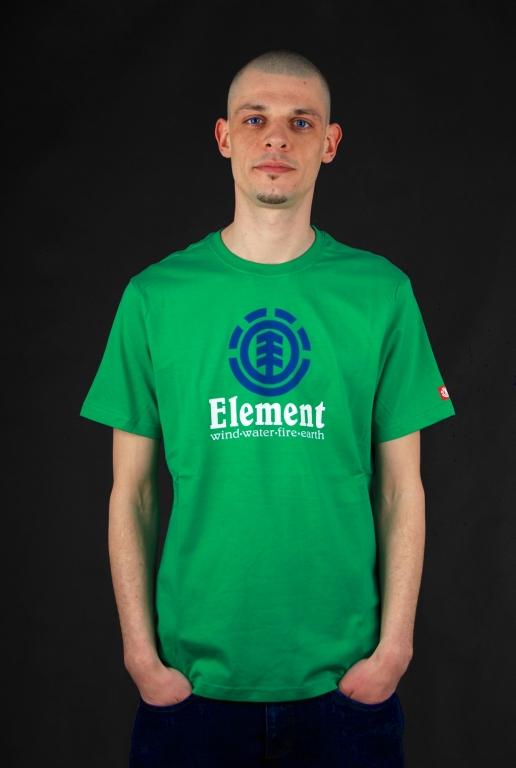 Element Vertical SS Simply Green Shirt S