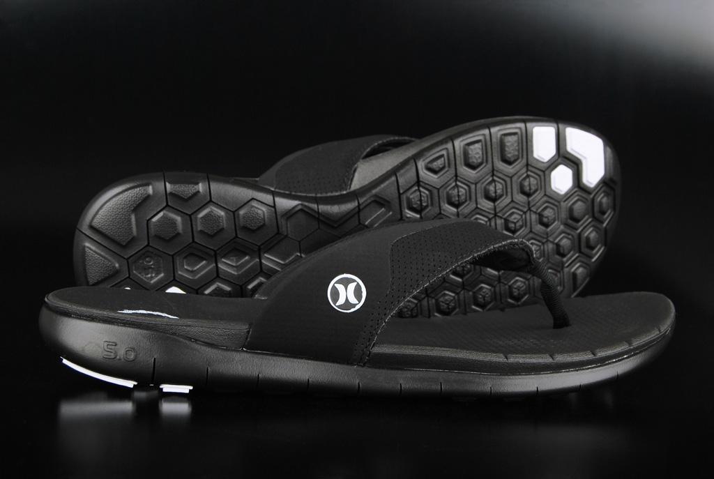 Hurley Phantom Nike Free Sandale Black Black US8/EU41