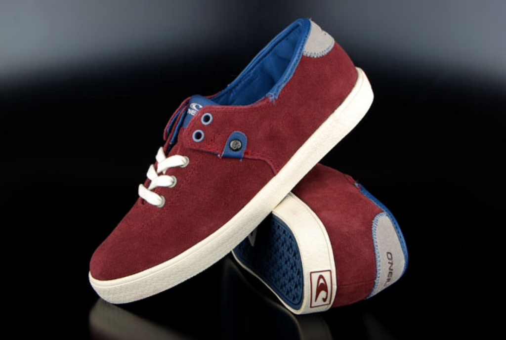Oneill Sneaker MauiLTR Red Mahogany Suede US10,5/EU42