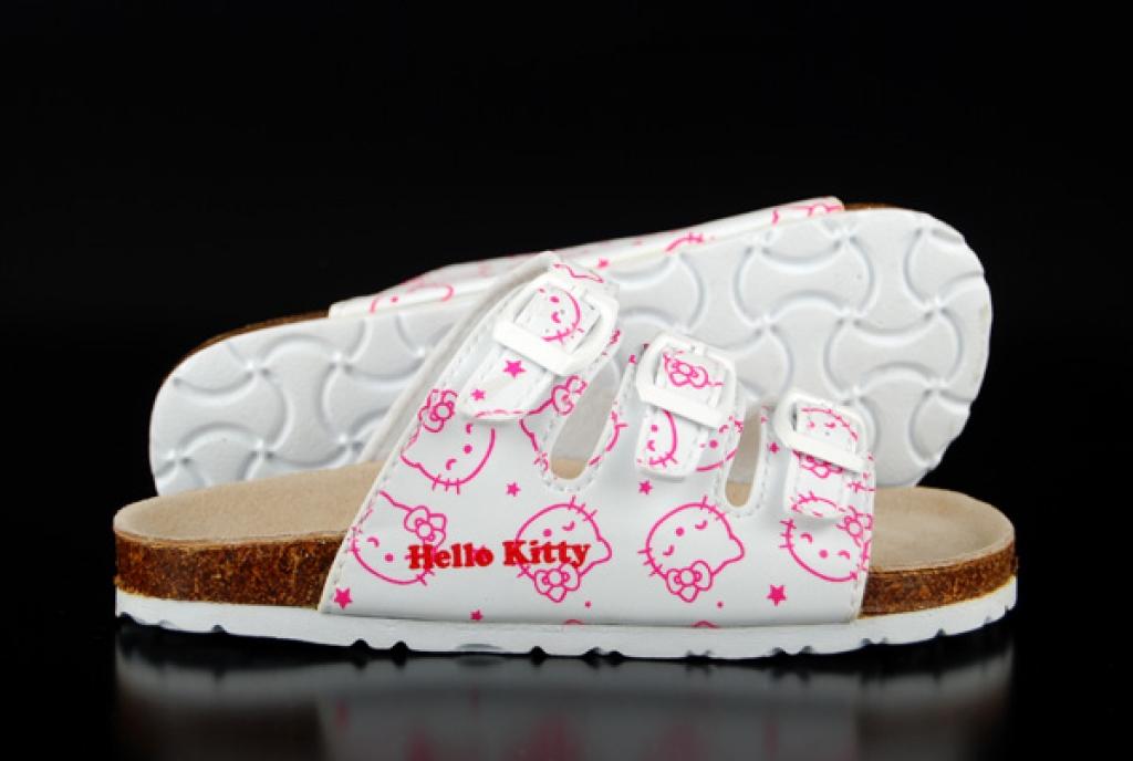 Sandalen Hello Kitty Bios White