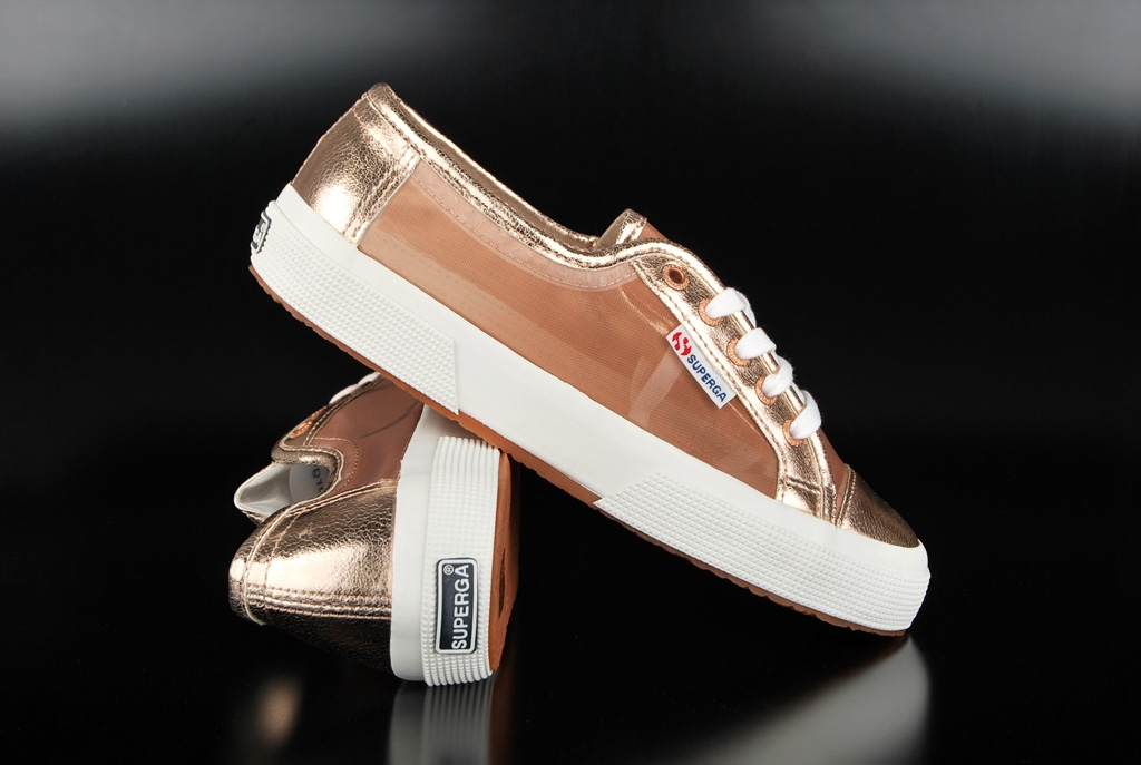 Superga 2750 Netw Rose Gold Sneaker US8/EU39