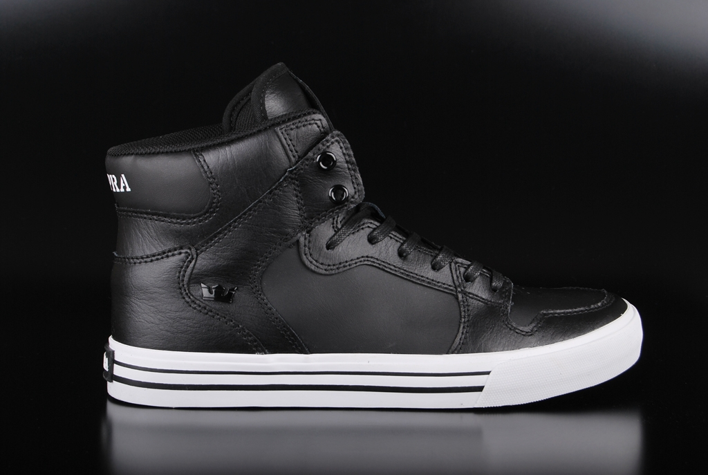 Supra Vaider Black White 08208-002-M Sneaker US10,5/EU44,5