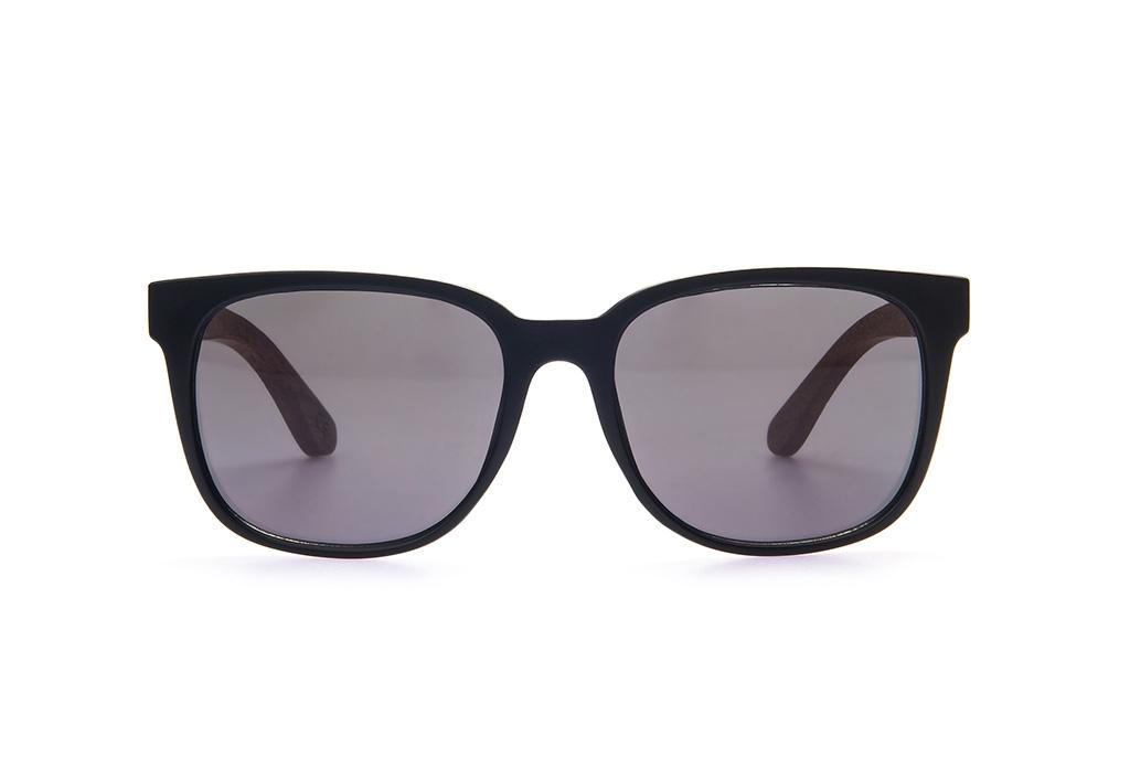 TAS Mack Holz-Sonnenbrille Walnuss