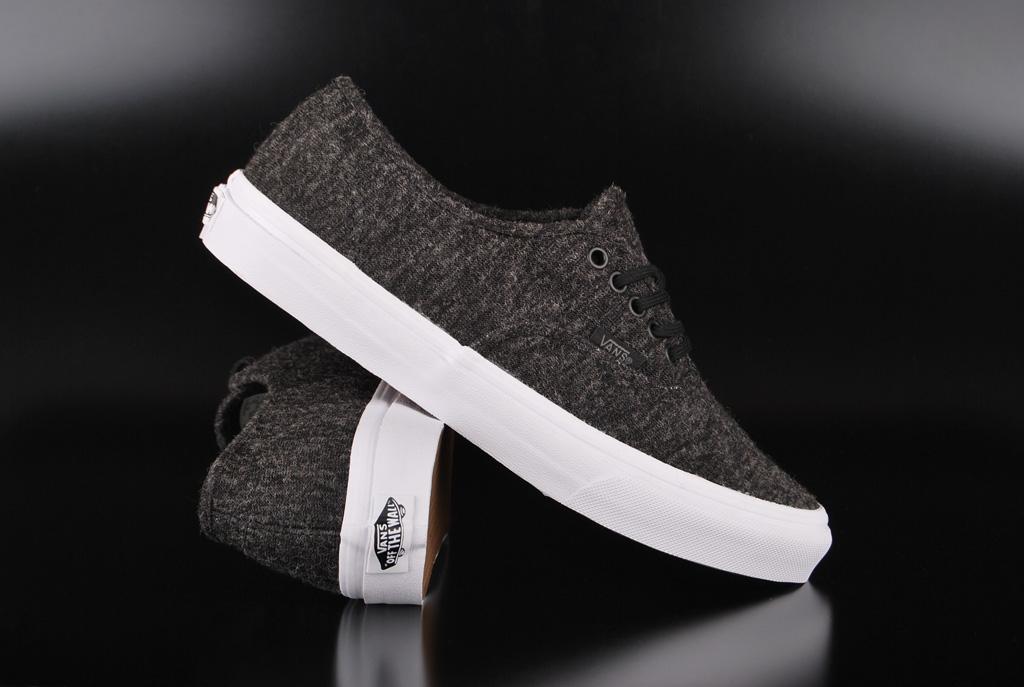 Vans Authentic Slim Jersey Black True White Sneaker US6/EU38