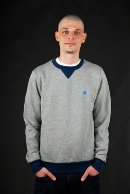 Element Protected CR Grey Heather Pullover