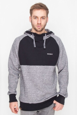 SHISHA Basic Black Black Wave Melange Pullover Boys