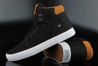 Supra Vaider Black Brown White Schuh