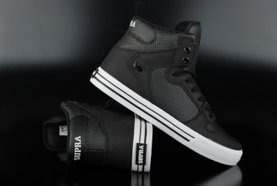Supra Vaider High Black/White S28188 Sneaker