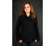 Element Monrow Black Fashion Fleece Jacke