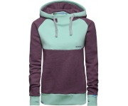 Shisha Hooded Basic Aubergine Ash/Light Blue