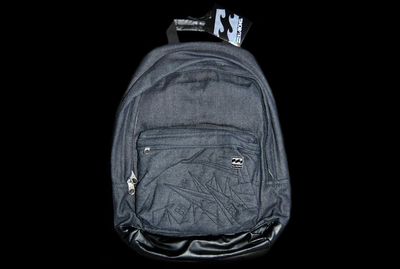 Billabong Bag Soorts Black Denim Rucksack