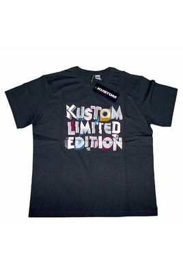 Kustom Shirt Limited Edition Charcoal