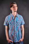 Zoo York Mercury Re-Up Poplin Blue Jay Polo