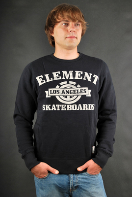 Element Sweatshirt Mesa W1 Fashion Fleece Black Pullover