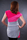 Damen Kleid Sublevel Pink Grey Melange Shirt