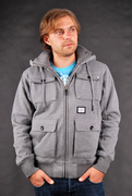 Billabong Kapuzenjacke The Grain Grey Heather