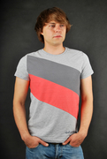 Sublevel T-Shirt Grey Melange