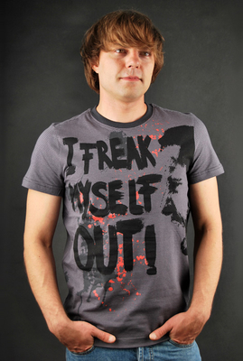 Sublevel Freak Out Anthracite T-Shirt