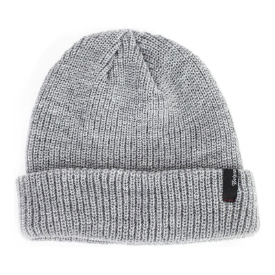 BRIXTON Heist Beanie light heather grey, One Größe Fits All