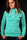 SHISHA Hooded Pearl Girls TurquoiseAsh Pullover Girls