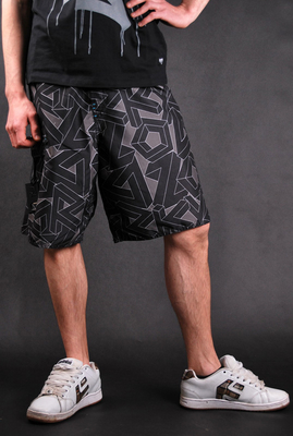 Zoo York Ambush Badeshorts 2 Black Hose