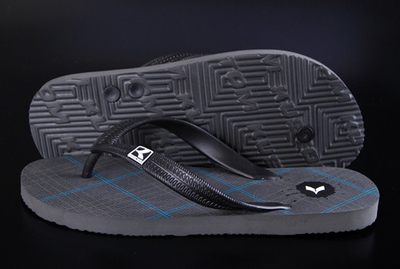 Kustom Sandals Kompound Cheques Grey Blue