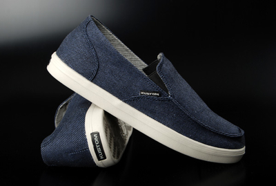 Kustom Neutral Navy Twill Shoe