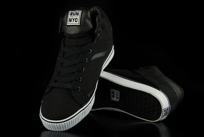 Run Nyc High-Cut Sneaker Sire Hi Black