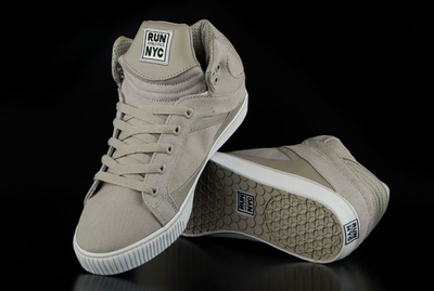 Run Nyc Sire Hi Sneaker Grey Sneaker