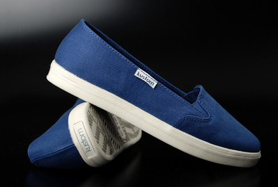 Kustom Slip Ons Birch Blue Shoe