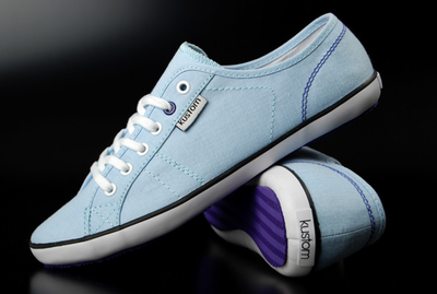 Kustom Girls Sneaker Pip Chambray