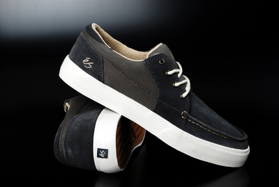 Es Holbrook Lo Dark Grey Shoe