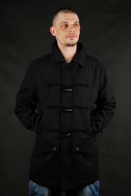 Billabong Jacket Baron Black Heather Coat