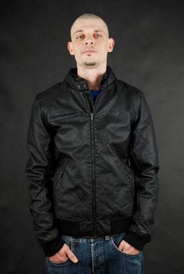 K1X Road Hog PU Leder Jacke Black