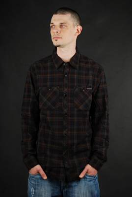 Billabong Hemd Lock Down Brown