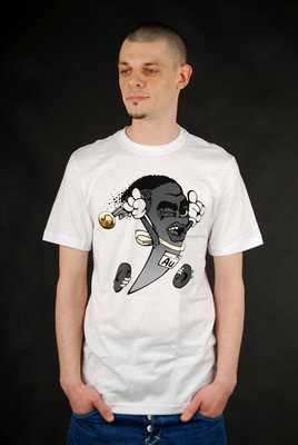 Nike Golden Shoe Swooshscot T-Shirt White