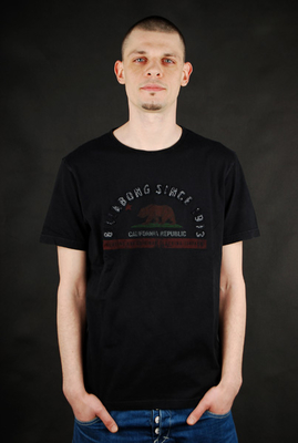 Billabong Bear Tee Black Herren Shirt