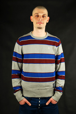 Zoo York Pullover Costello Slate Gr.  S