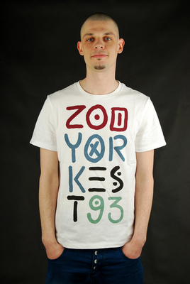 Zoo York Tribal Stack Bleach White Herren Kurzarmshirt