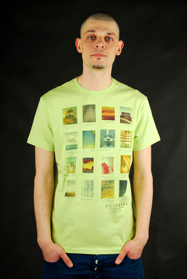Billabong T-Shirt Metamorphosis Neon Lime Heather