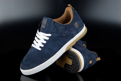 Element Davenport Navy Skate Shoes