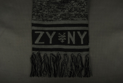 Zoo York Pioneer Black Scarf