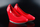 Adidas slvr French Olympics Ballerina Pumps Red