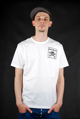 Billabong Iconic White Cap T-Shirt Herren