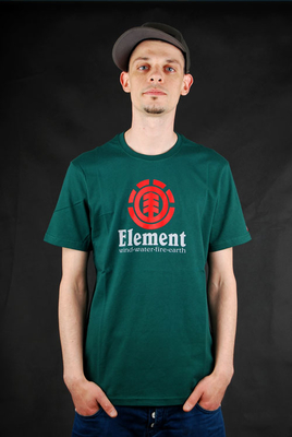 Element Vertical Ivy Green T-Shirt