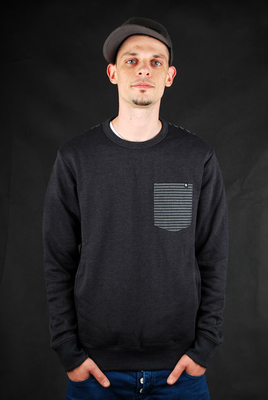 Billabong Sweatshirt Mercenary Contrasty Charcoal Marley